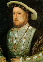Click image for more information on Henry VIII